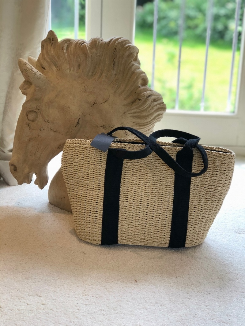 Small Mini Tote Hessian