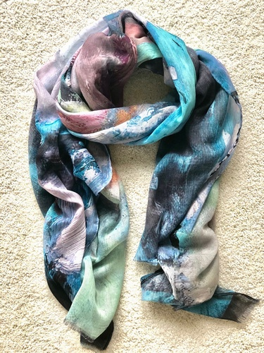 Monet Scarf Many Colours