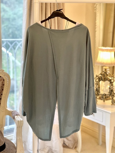Drape Open Back Top Tiffany